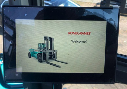 Sells all kinds of forklift monitors