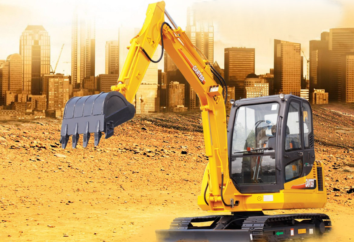 Carter Mini Excavator series CT45